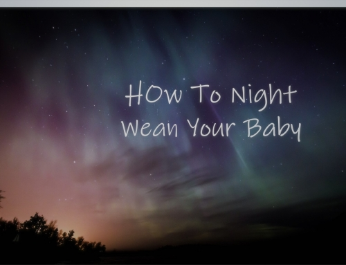 How to Night Wean Your Baby