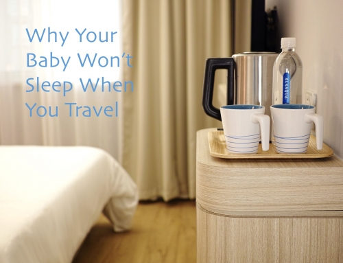 Why Your Baby Won't Sleep When You Travel